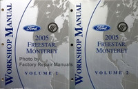 2005 Ford Freestar Mercury Monterey Workshop Manual Volume 1, 2