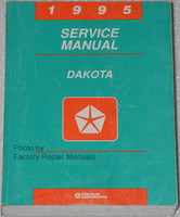 1995 Dodge Dakota Pick-up Factory Service Manual Original Shop Repair