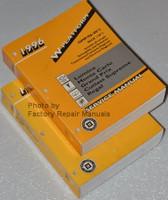 1996 W Platform Chevrolet Lumina Monte Carlo Pontiac Grand Prix Oldsmobile Cutlass Supreme Buick Regal Service Manual Volume 1, 2