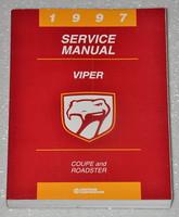 1997 Dodge Viper Factory Service Manual - RT10 Roadster & GTS Coupe Original Shop Repair