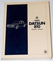 1980 Datsun 810 Factory Service Manual Original Shop Repair