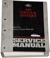 1995 Ford Contour Mercury Mystique Factory Service Manual - Original Shop Repair