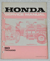 Honda Service Manual 90 TRX200
