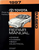 1997 Toyota Paseo Repair Manual