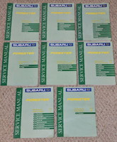 2000 Subaru Forester Service Manuals