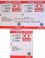 2005 GM CK8 Trucks Service Manual Volume 1, 2, 3
