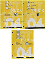 2004 Buick Rainier Chevrolet TrailBlazer GMC Envoy Shop Service Repair Manual Set