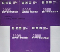 2005 Buick Rainier Chevrolet TrailBlazer GMC Envoy Shop Service Repair Manual Set