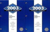 2003 Cadillac Deville Factory Service Manuals