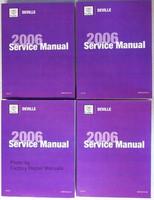 2006 Cadillac Deville & DTS Original Factory Shop Service Repair Manual Set