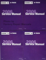 Service Manual 2006 Hummer H3 Volume 1a, 1b, 2a, 2b