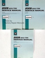 GM 2009 NH3/TRK Service Manual Hummer H3 Volume 1, 2, 3