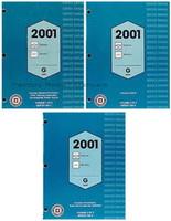 2001 Chevrolet Express GMC Savana Service Manual Volume 1, 2, 3