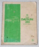 1982 Datsun 310 Service Manual