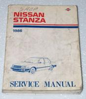 1986 Nissan Stanza Sedan Service Manual