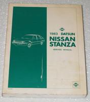 1983 Nissan Stanza Service Manual