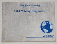2001 Ford Windstar Mini-Van Electrical Wiring Diagrams - Original Shop Manual
