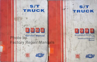 1994 GMC Chevrolet Service Manual S/T Truck Volume 1 and 2