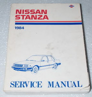 1984 NISSAN STANZA Factory Shop Service Repair Manual