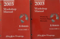 2003 Workshop Manual Ford E-Series Volume 1 and 2