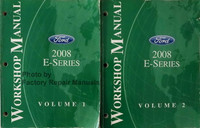 Workshop Manual Ford 2008 E-Series Volume 1 and 2