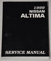 1999 Nissan Altima Factory Service Manual - Original Shop Repair