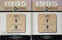 1995 Service Manual Chevrolet Lumina APV Pontiac Trans Sport Oldsmobile Silhouette Volume 1, 2