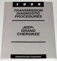1999 Jeep Grand Cherokee Transmission Diagnostic Procedures