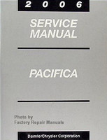 2006 Chrysler Pacifica Factory Service Manual - Original Shop Repair Book