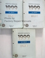 Service Manual 1999 S/T Truck Chevrolet S10 Blazer GMC S15 Sonoma Jimmy Envoy Oldsmobile Bravada Volume 1, 2, 3