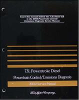 2002 ford 7 3l diesel engine/emissions diagnosis manual