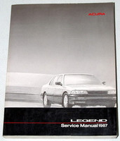 1987 Acura Legend Sedan Service Manual