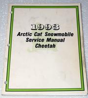 1993 ARCTIC CAT CHEETAH Snowmobile Factory Dealer Shop Service Repair Manual 93