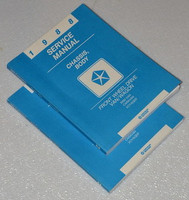 1988 Dodge Grand Caravan Plymouth Voyager Mini Ram Van Shop Service Manual Set