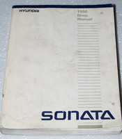 1990 HYUNDAI SONATA GL GLS Sedan Factory Dealer Shop Service Repair Manual 2.4L