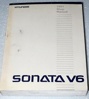 1991 HYUNDAI SONATA 3.0L V6 GLS Sedan Factory Dealer Shop Service Repair Manual