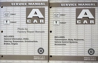 2005 A Car Chevrolet Cobalt Pontiac Pursuit Service Manual Volume 1, 2