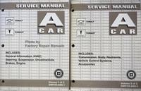 2005 A Car Chevrolet Cobalt Pontiac Pursuit Service Manual Volume 1, 2