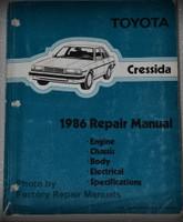 1986 Toyota Cressida Repair Manual
