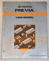 Toyota Previa Electrical Wiring Diagrams 1995 Model