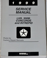 1999 Chrysler Concorde 300M LHS Dodge Intrepid Service Manual