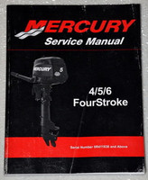 2011 MERCURY OUTBOARD 4 5 6 HP 4 Four Stroke Factory Shop Service Repair Manual
