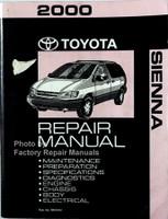 2000 Toyota Sienna Repair Manual
