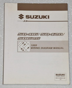 vitara factory electrical wiring diagrams shop manual  image 1