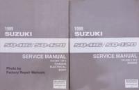 1999 Suzuki Vitara SQ416/SQ420 Service Manual