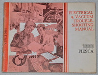 1980 Ford Fiesta Electrical & Vacuum Troubleshooting Manual