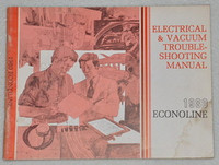 Electrical & Vacuum Troubleshooting Manual 1980 Econoline