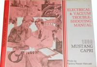 1980 Ford Mustang Mercury Capri Electrical & Vacuum Troubleshooting Manual