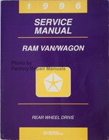 1996 Service Manual Ram Van/Wagon