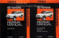 1994 Toyota 4Runner Factory Repair Manual Volume 1, 2